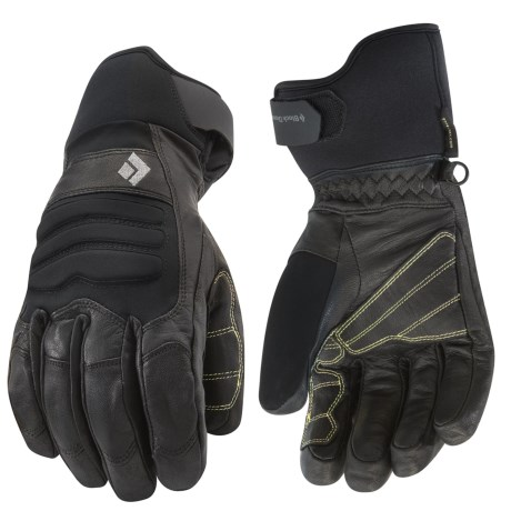 Black Diamond Equipment Kajia Gore-Tex® Gloves - Waterproof, Insulated (For Men)