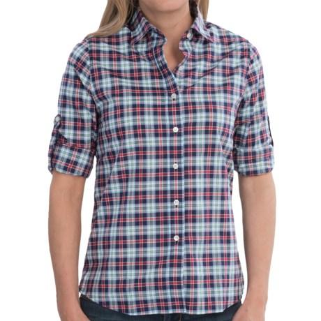 Boast USA Button-Down Plaid Shirt - Long Sleeve (For Women)