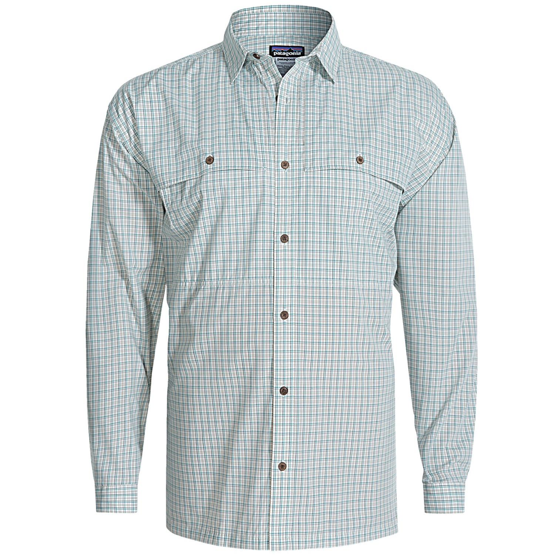 Patagonia Men S Long Sleeve Island Hopper Shirt