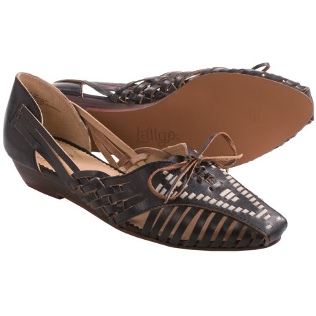 Latigo West Shoes - Leather, Wedge Heel (For Women)