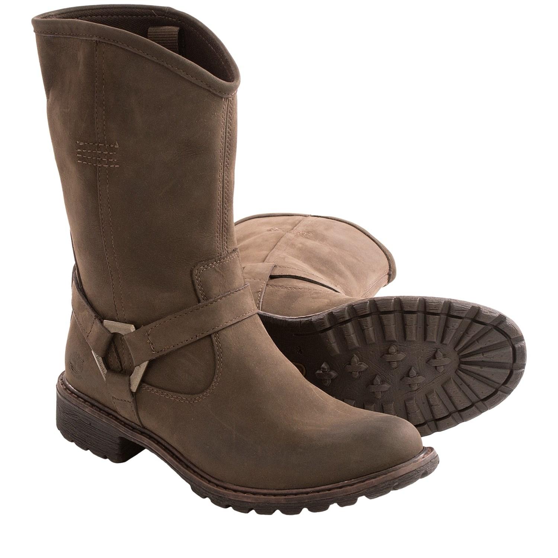 Original Waterproof Boots  Timberland Women39s Earthkeepers Stoddard Mid Biker