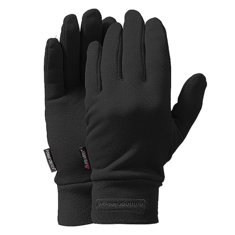 Outdoor Designs Power On Fleece Gloves - Polartec® Power Stretch® (For Men and Women)