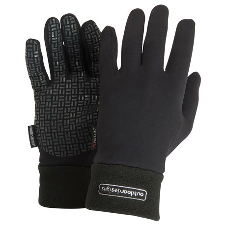 Outdoor Designs Powergrip Gloves - Polartec® Power Stretch® (For Men and Women)