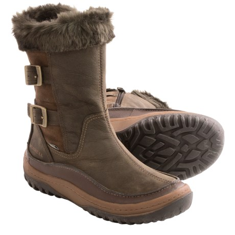 Merrell Decora Chant Winter Boots - Waterproof, Insulated (For Women)