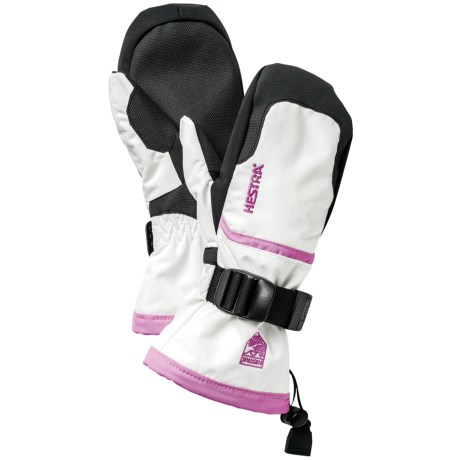 Hestra CZone Gauntlet Jr. Mittens - Waterproof, Insulated (For Little and Big Kids)