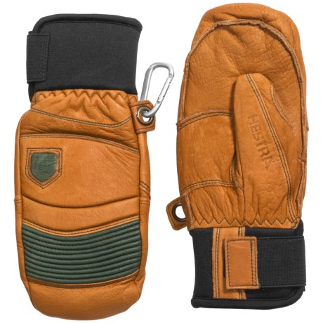 Hestra Fall Line Leather Mittens - Insulated (For Men and Women)