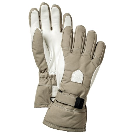 Hestra Alpine Classic Gloves - Waterproof, Insulated (For Men and Women)