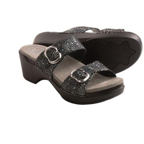 Dansko Sophie Twin Strap Sandals (For Women)