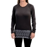 Snow Angel Chami Graphic Base Layer Top - Crew Neck, Long Sleeve (For Women)