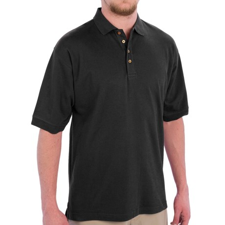 Capital Apparel Cotton Polo Shirt - Short Sleeve (For Men)