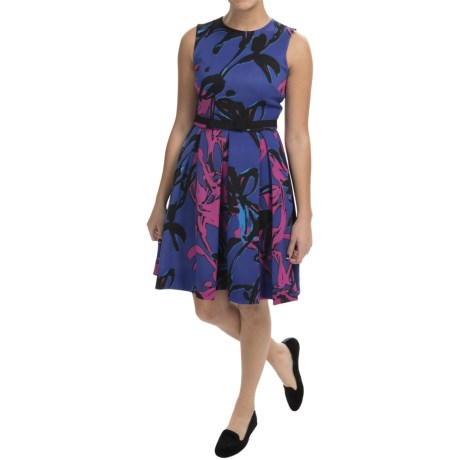Taylor Dress Scuba Dress - Sleeveless (For Women)