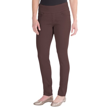 JAG Nora Pull-On Skinny Knit Pants - Comfort Rise (For Women)