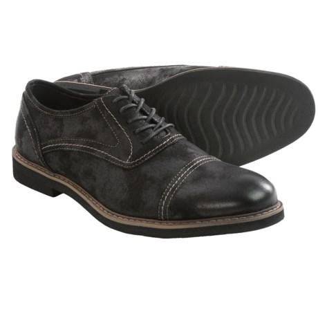 Deer Stags Oakton Oxford Shoes - Canvas, Cap Toe (For Men)