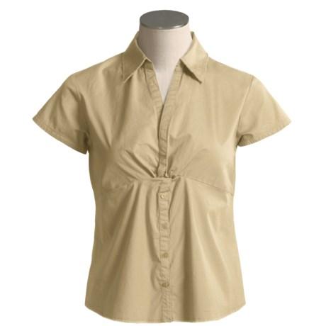 Aventura Clothing by Sportif USA Sierra Pull-On Shirt - Organic Cotton, Short Sleeve (For Women)