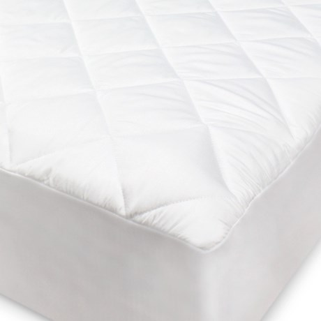 SensorPEDIC Hypoallergenic White Mattress Pad - King