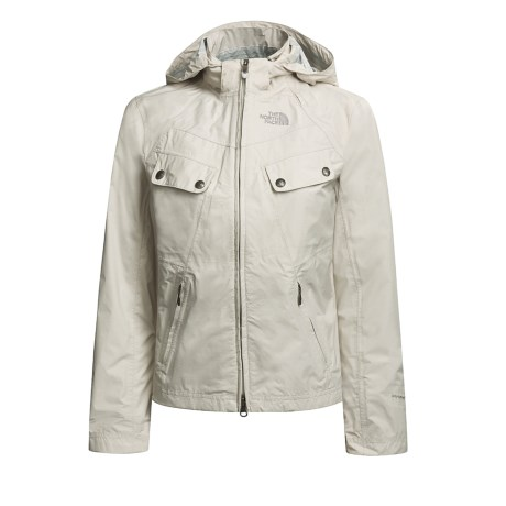 The North Face Audrey Waterproof Shell Jacket  (For Women)
