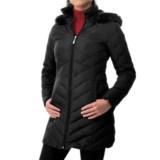Ellen Tracy Down Walker Coat - Faux-Fur-Trim Hood (For Women)