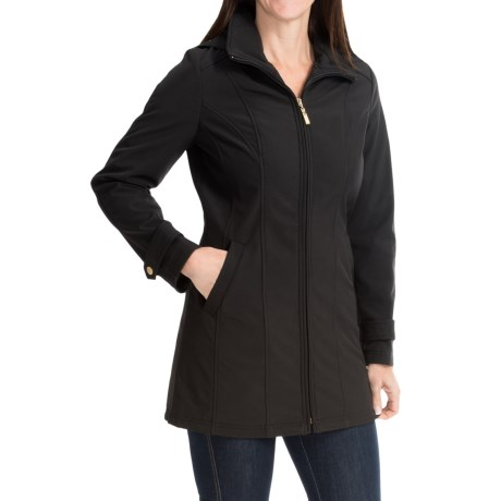 Ellen Tracy A-Line Soft Shell Jacket (For Women)