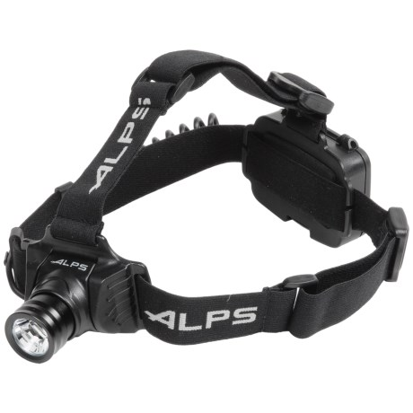 ALPS Mountaineering Trail Star 250 LED Headlamp - 250 Lumens