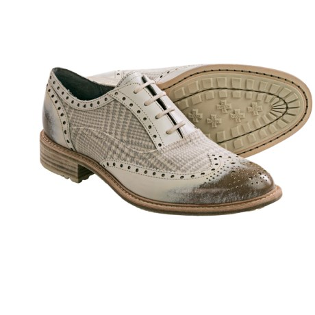 Woolrich Empire Oxford Shoes – Leather, Wool (For Women)