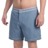 "parke & ronen Corfu Swim Trunks - 6"" (For Men)"