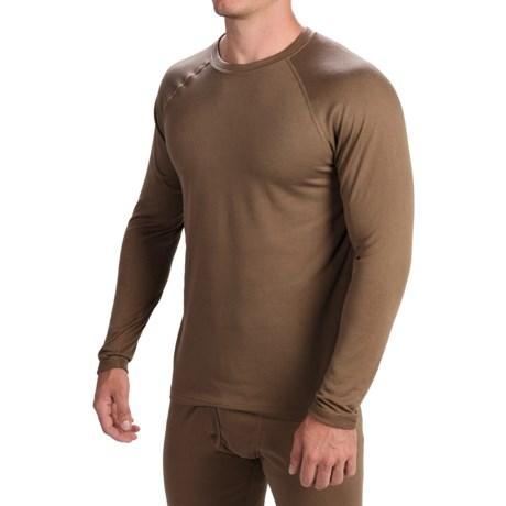 Terramar Military 3.0 Fleece Base Layer Top - Long Sleeve (For Men)