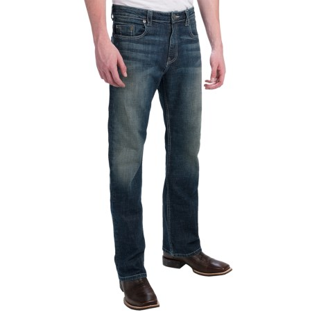 Petrol Lief Regular Fit Jeans - Bootcut (For Men)