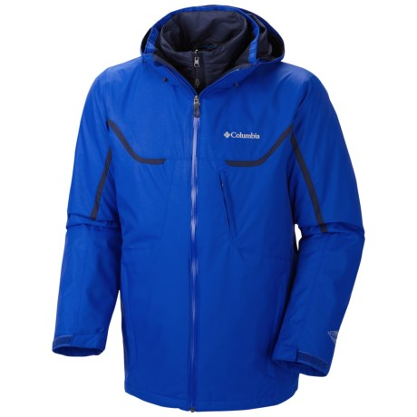 Columbia Sportswear Whirlibird Omni-Heat® Interchange Jacket - 3-in-1, Waterproof, Insulated (For Men)