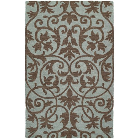 Kaleen Carriage Collection Wool Area Rug - 5'x7'9""