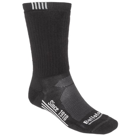 Ballston High-Performance Trekking Socks - Merino Wool, Midweight, Crew (For Men)