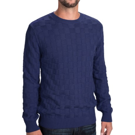 Gant Basket-Weave Sweater - Cotton (For Men)