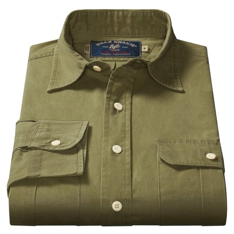 Bills Khakis Poplin Sport Shirt - Long Sleeve  (For Men)