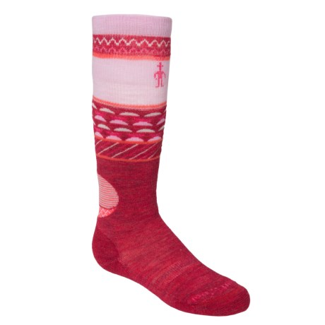 SmartWool Wintersport Fox Socks - Merino Wool,  Over the Calf (For Little and Big Kids)