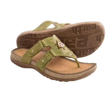 Earth Sisal Sandals - Leather (For Women)