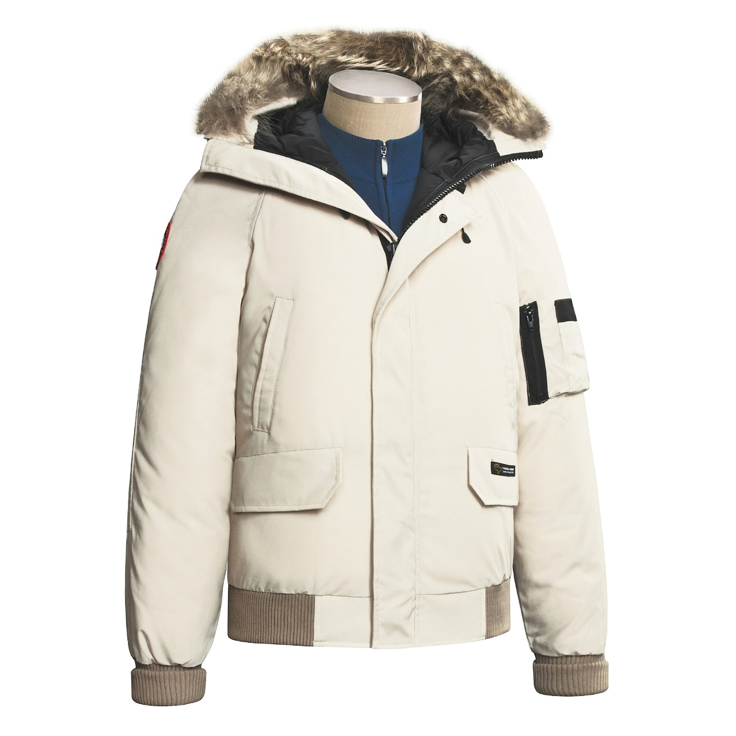 Canada Goose vest outlet 2016 - Canada Goose Chilliwack Down Bomber Jacket (For Men and Women ...