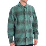 True Grit Melange Blanket Plaid Big Shirt - Long Sleeve (For Men)