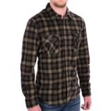 True Grit Field Fleece Shirt Jacket - Button Front, Long Sleeve (For Men)