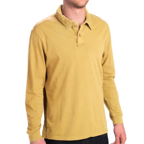 True Grit Rope Braid Polo Shirt - Long Sleeve (For Men)