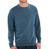 True Grit Cashmere Fleece Sweatshirt - Crew Neck (For Men)