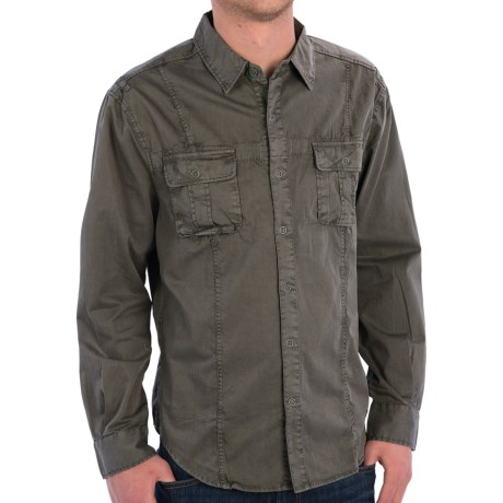 True Grit Summit Shirt Jacket - Button Front, Long Sleeve (For Men)
