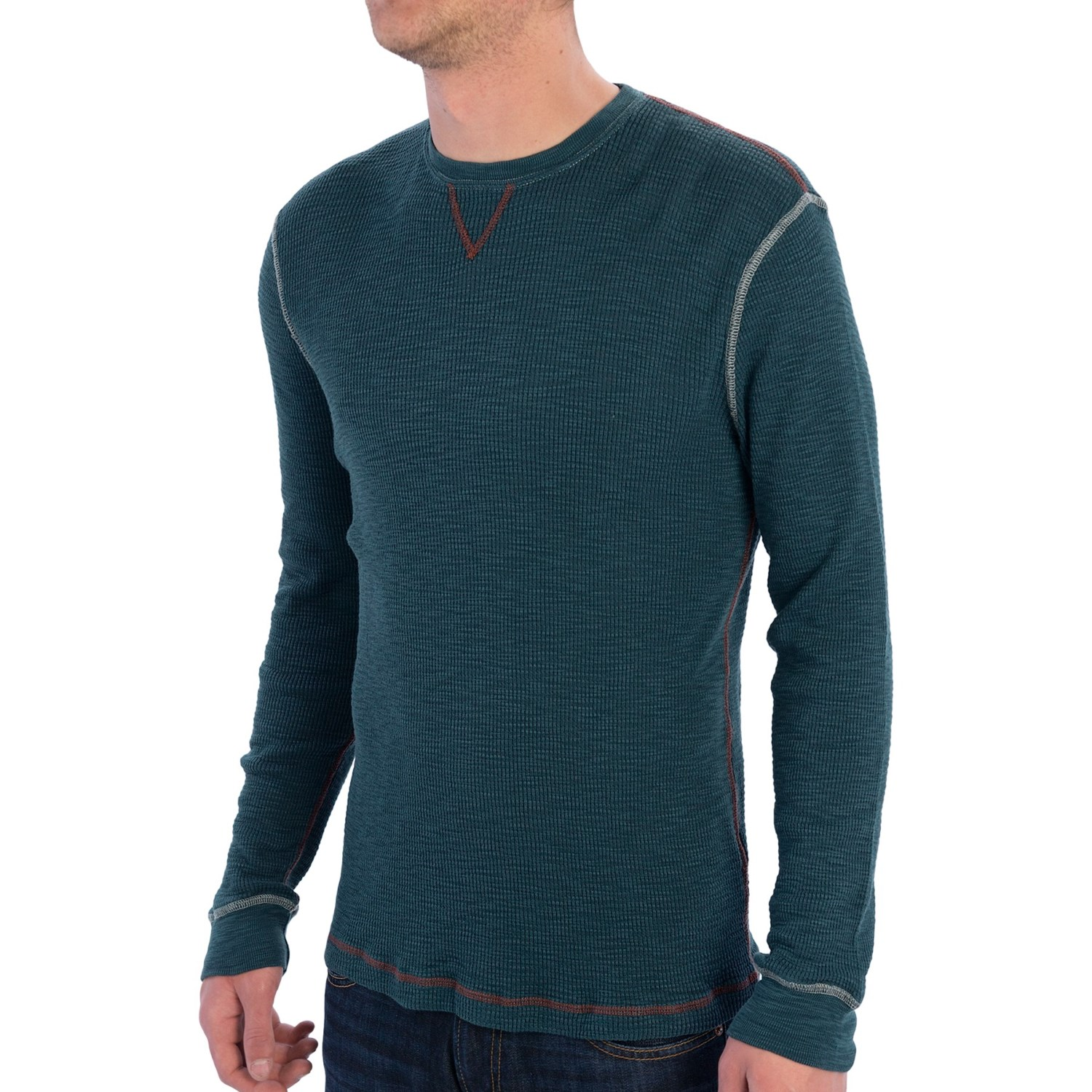 KS Mens Thermal Heavyweight T Shirts Long Sleeve Soft Cotton Crew Neck Big and Tall Knits. from $ 9 99 Prime. out of 5 stars 5. Wolverine. Men's Rykker Baseball Style Blended Thermal 3 Button Henley Shirt. from $ 9 99 Prime. out of 5 stars Duofold. Men's Mid Weight Wicking Thermal Shirt.