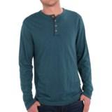 True Grit Vintage Slub Jersey Henley Shirt - Long Sleeve (For Men)