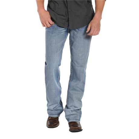 Rock & Roll Cowboy Double Barrel V-Stitch Jeans - Relaxed Fit, Straight Leg (For Men)
