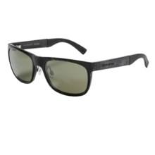 Serengeti Nico Sunglasses - Polarized, Photochromic Glass Lenses in Shiny Grey Marble/555 Nm - Closeouts