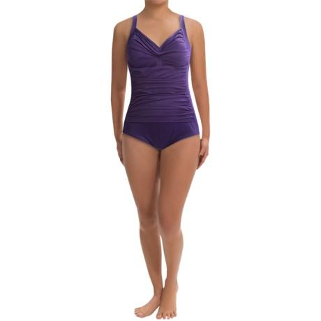 Trimshaper Avery One-Piece Swimsuit (For Plus Size Women)