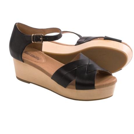 Gee WaWa Donatella Wedge Sandals (For Women)