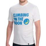 La Sportiva Climbing On The Moon T-Shirt - Cotton, Short Sleeve (For Men)
