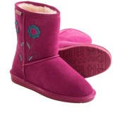 Bearpaw Buttercup Boots - Suede, Sheepskin (For Toddler Girls)