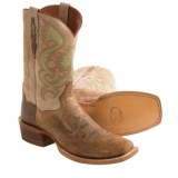 Dan Post Free Hand Cowboy Boots - Leather, Square Toe (For Men)