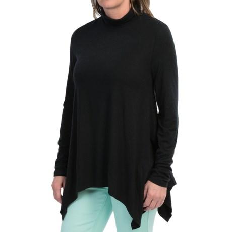 dylan Softest Tunic Turtleneck - Long Sleeve (For Women)